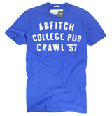 Abercrombie&Fitch <br>純棉短袖T恤