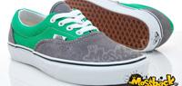 VANS ERA 灰綠配色麂皮帆布鞋