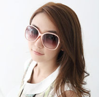 名媛氣質玳瑁大框太陽眼鏡