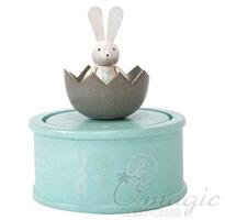 agnes b. 兔子木質音樂盒