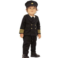 小船長假三件式連身衣