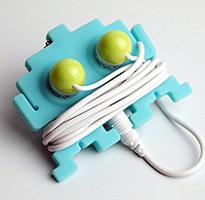 【gift365】 綁架外星人耳機捲線器