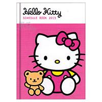 凱蒂貓 2013硬殼年曆記事本