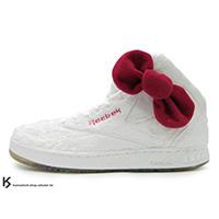 Reebok x Hello Kitty 白色凱蒂貓聯名款