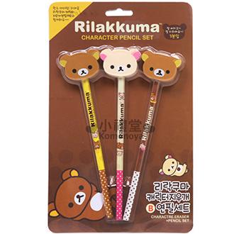 Rilakkuma 懶懶熊 橡皮擦鉛筆