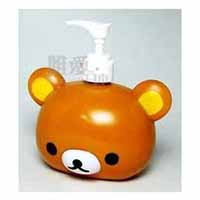 SAN-X 懶熊乳液瓶