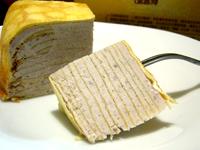 三三_鮮奶純芋千層蛋糕