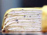 雪倫_鮮奶純芋千層蛋糕