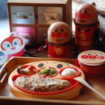 日本進口麵包超人超值餐具組