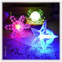 黏貼式七彩LED聖誕造型燈