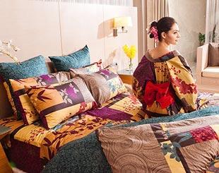 戀家小舖100%精梳棉設計款床包套
