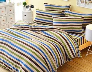 超保暖搖粒絨˙床包被套組