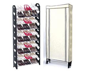 日式大容量DIY豪華型十層鞋架