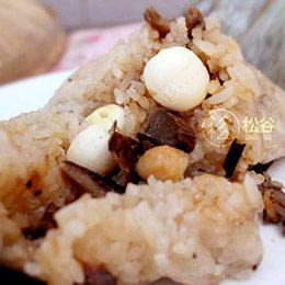 蓮子 菜脯 香菇 清素粽 10入