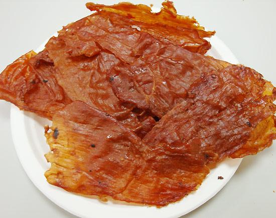 津永肉乾-原味肉紙