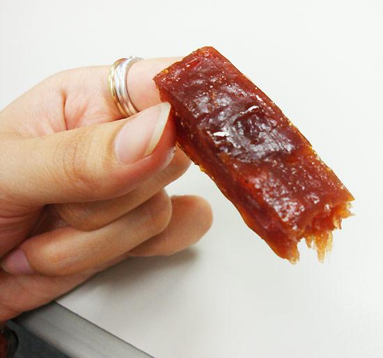 吃得出肉的纖維還在而且口感Q彈。