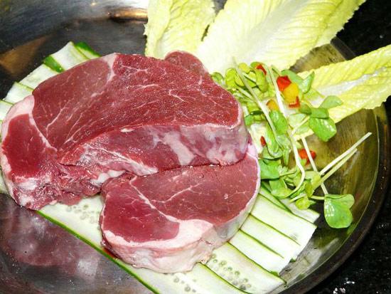 好新鮮的肉