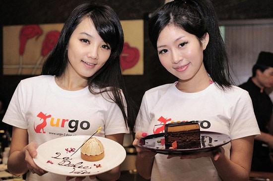美女跟蛋糕你要選哪個?