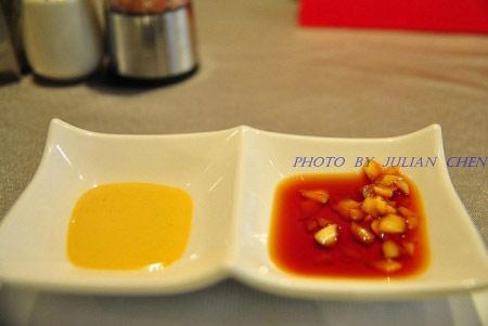 蜂蜜芥末與蒜頭醬料