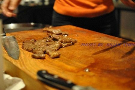 提供給與會嘉賓的試吃肉品