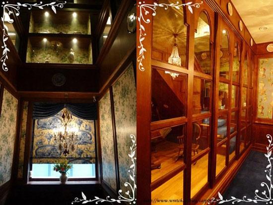 再上去是古董室,不過我們就沒參觀了,可能要超級VIP才能進去的吧?