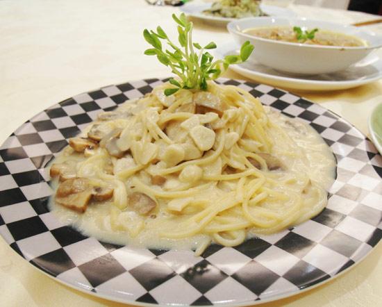 ☆舒芙樂soft cuisine☆香蒜奶油蘑菇義大利麵醬