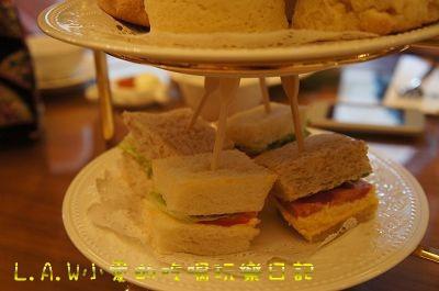 輕巧的三明治很有家常的味道,蛋沙拉增添了一點日式的媽媽味在裡面。