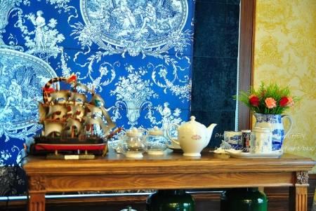 是,這兒就是茶會的所在CUTTY SARK英式茶館