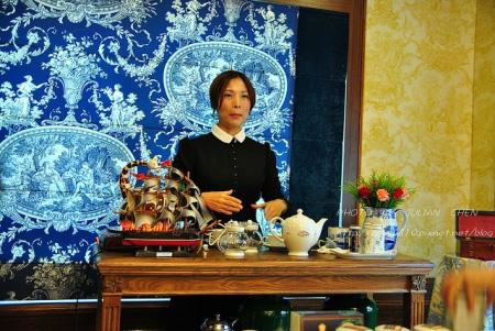 Kelly老師講解沖泡茶葉的步驟,將我們由門外漢引領進入紅茶的殿堂