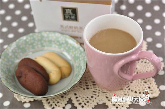 英式鮮奶茶,喝起來很奶很香,小姑最愛這味。