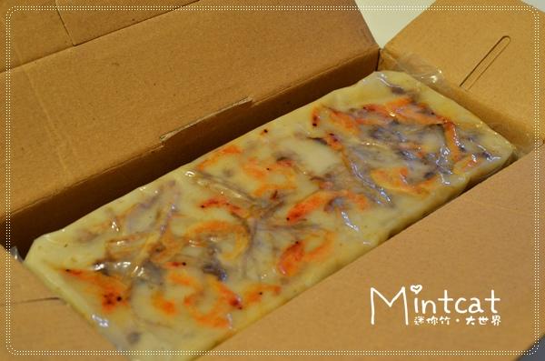 真空包裝起來很衛生,上面就看得到櫻花蝦和芋頭絲,真材實料。