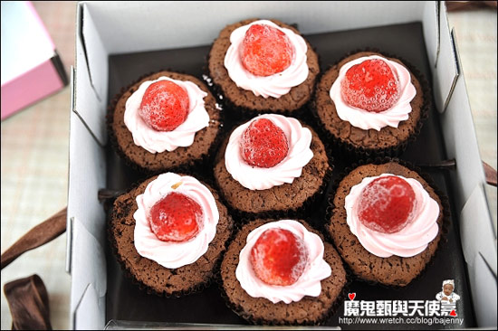 樂天市場蘿絲帕夫:黑爵CUP蛋糕綜合7入$399免運