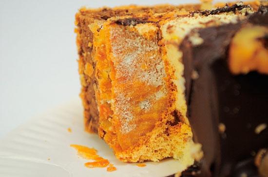 試吃‧拿破崙先生「純濃甘納許」核桃 巧克力與藍莓醬的甜蜜千層滋味