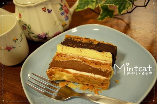 部落客,樂天拿破崙先生,純濃甘納許,蛋糕,巧克力