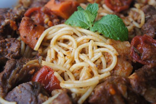 部落客,舒芙樂,義大利麵,迷迭香烤雞,調理包,義法料理