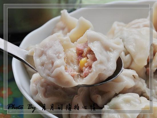 部落客,水餃,辣椒醬,玉米豬肉,三鮮,梨山高麗菜