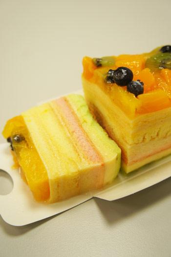 老耿,彩虹布丁蛋糕,彩虹,布丁,甜點,蛋糕,嘉義,水果,夏