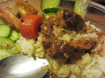 部落客,舒芙樂,南洋椰汁雞肉,蕃茄橄欖義大利麵,匈牙利燉牛肉