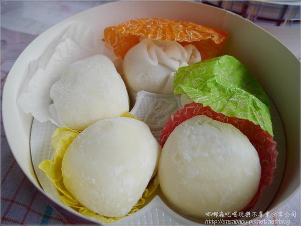 部落客,基隆連珍,芋泥球,雪露,水晶大福