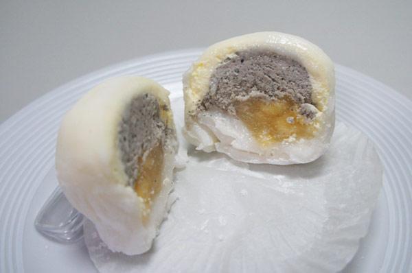 連珍芋泥球,芋泥雪露,飯後甜點,創新甜點,紅豆大福,基隆連珍