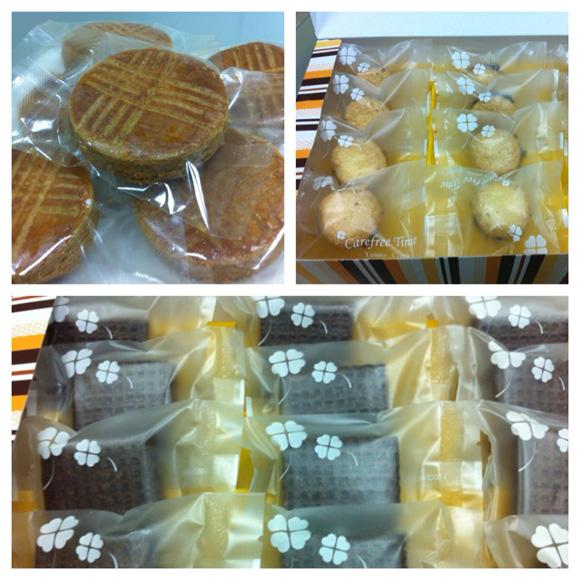 食在品味烘培坊,法式下午茶,布列塔尼酥餅,巧克力杏仁餅,黑森林夾心餅