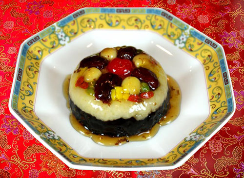 京兆尹紫米八寶飯
