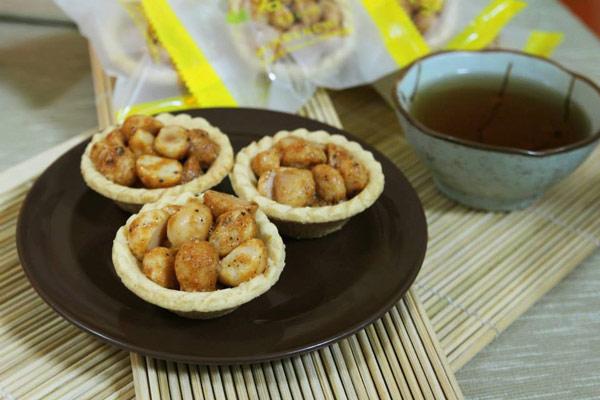 「名坂奇─洋菓子の店」的鹽酥夏威夷豆塔