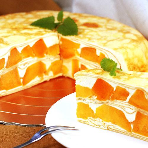 ▲大學生了沒推薦【塔吉特】芒果多千層蛋糕。新鮮爆餡,清涼爽勁!