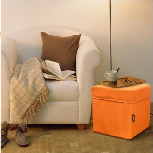因為內襯有加厚所以支撐力佳,當椅子茶凳都沒有問題。