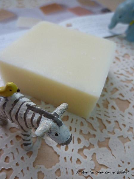 橙花手工皂的香味較為淡雅清新