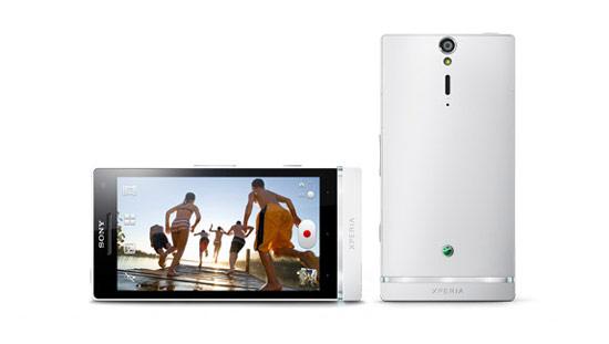 Sony XPERIA S採用抗污材質的外殼設計