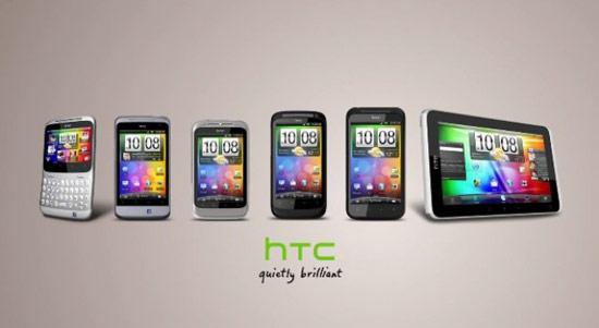 HTC去年共推出約14隻手機
