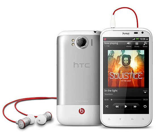HTC Sensation XL Beats Audio感動機