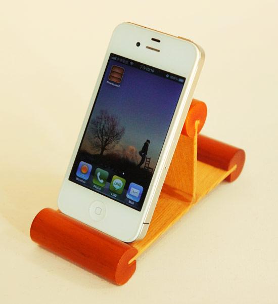 原木,設計,Mu life,手機座,平板電腦,iPhone5